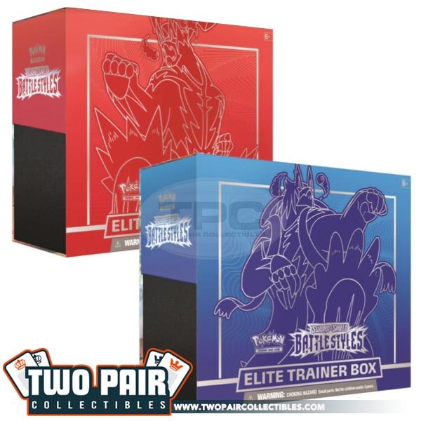 Battle Styles Elite Trainer Box