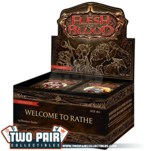 Flesh and Blood Welcome to Rathe Booster Box (Unlimited)
