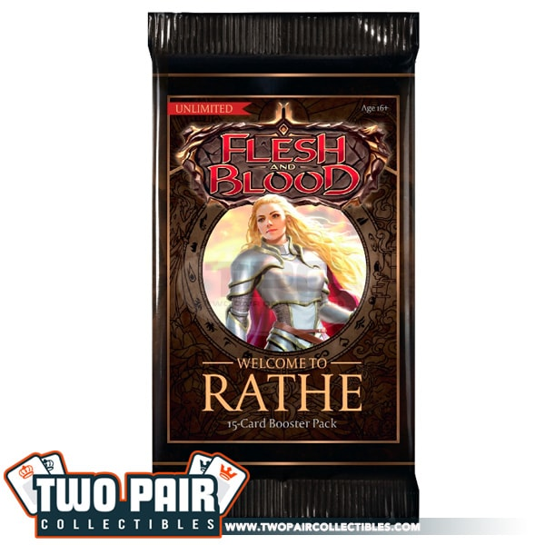 Flesh and Blood Welcome to Wrathe Booster Pack (Unlimited)