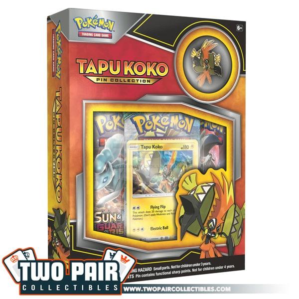 Tapu Koko Pin Box