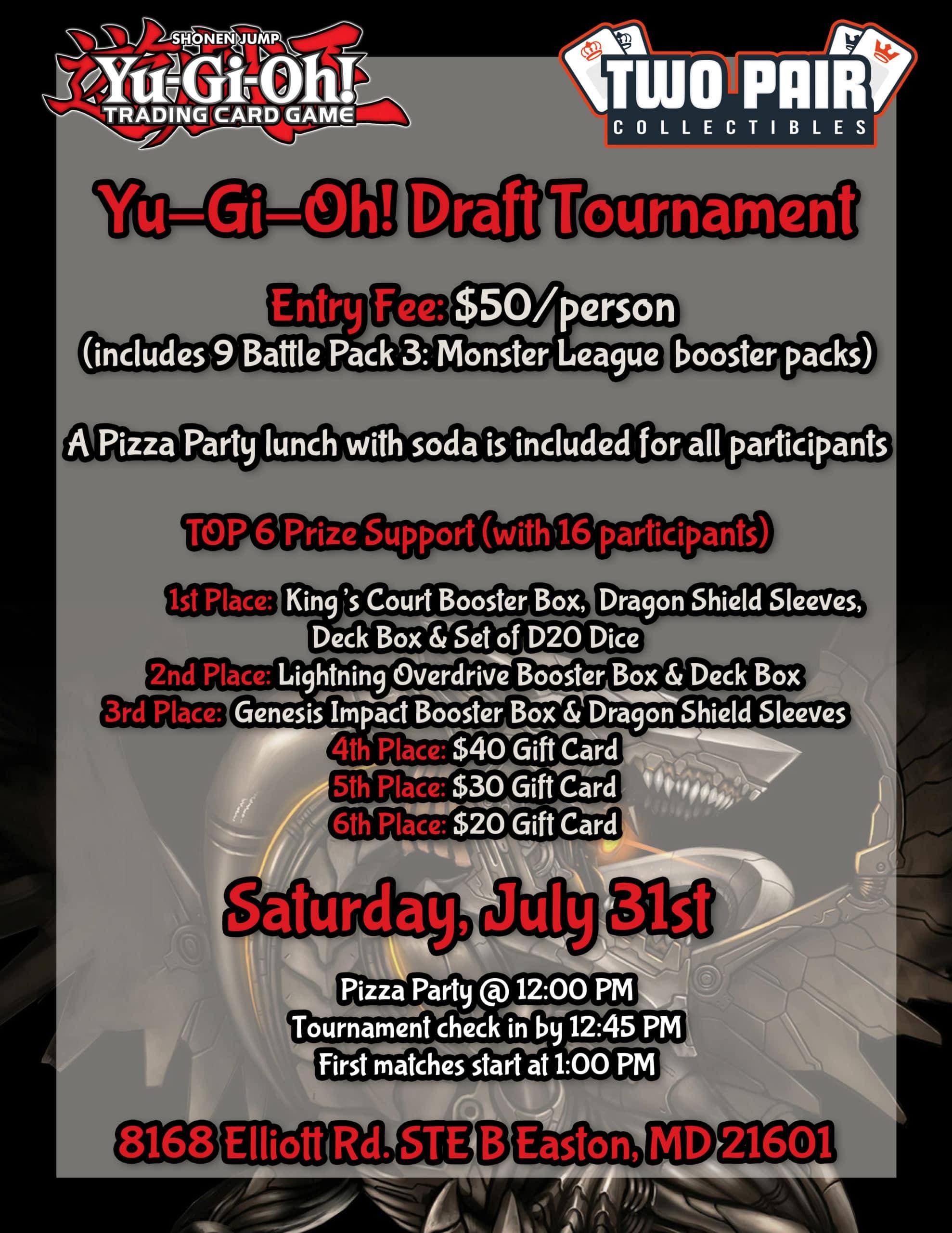 Yu-Gi-Oh! Draft Tournament