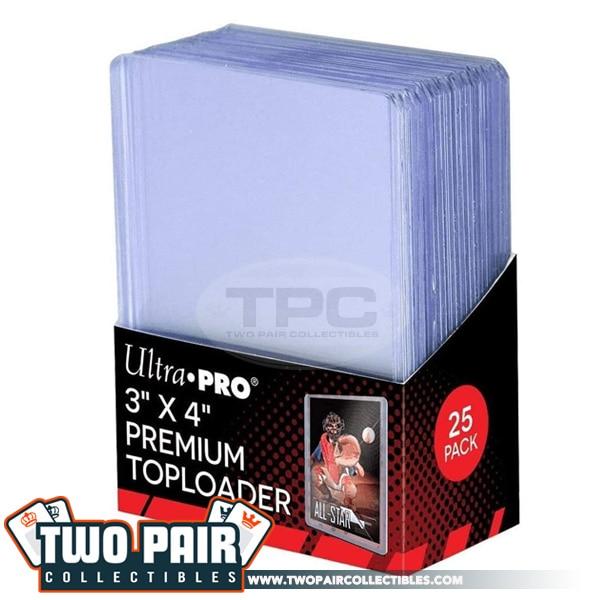 "Ultra PRO 3"" X 4"" Ultra Clear Premium Toploader 25ct"