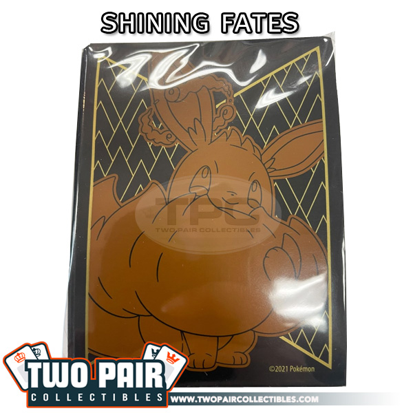 Pokemon Card Sleeves (65ct) - Shining Fates, Eevee Vmax