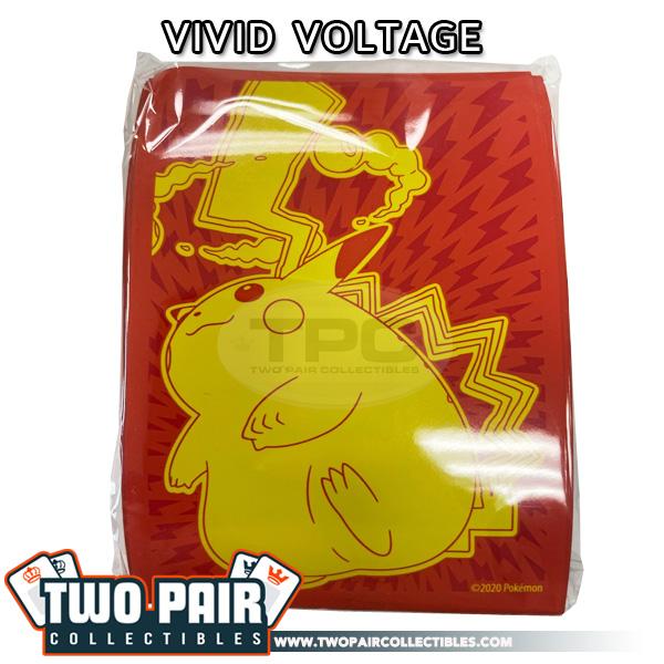 Pokemon Card Sleeves (65ct) - Vivid Voltage, Pikachu VMAX