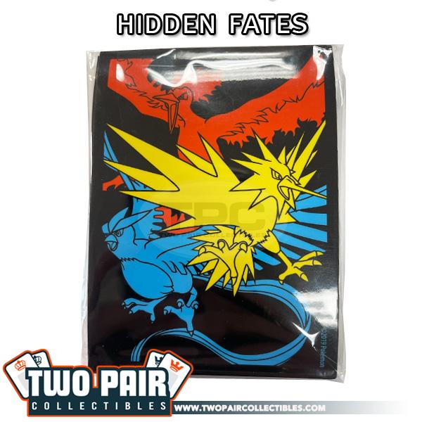 Pokemon Card Sleeves (65ct) - Hidden Fates, Legendary Bird Trio