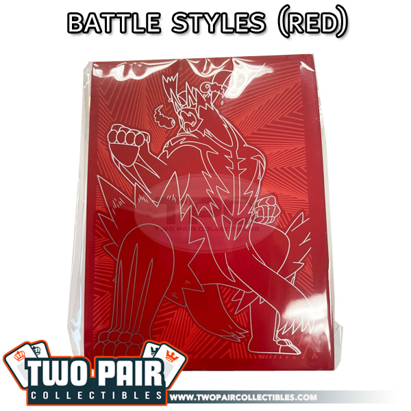 Pokemon Card Sleeves (65ct) - Battle Styles, Single Strike Urshifu VMAX