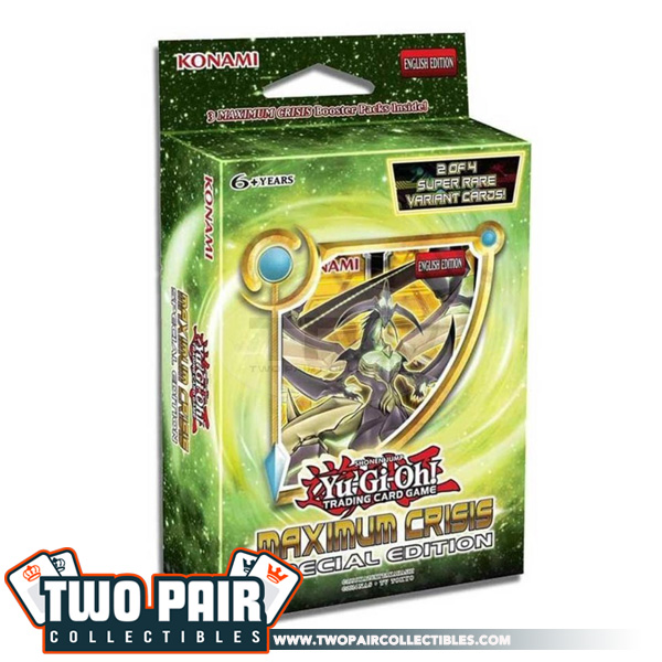Yu-Gi-Oh! Maximum Crisis Special Edition Box